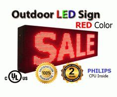 cost of lighted business signs 1000 images about outdoor programmable led signs on