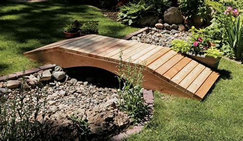how to build a small wooden bridge wood how to build a wooden garden bridge blueprints