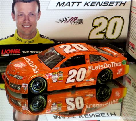 matt kenseth 2013 the home depot let s do this 1 24