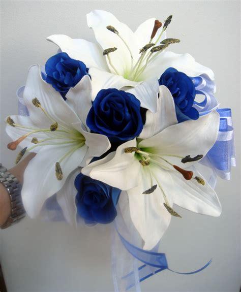 Galerry royal blue wedding bouquets