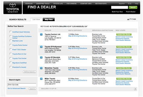 local toyota dealers toyota dealer locator autos weblog
