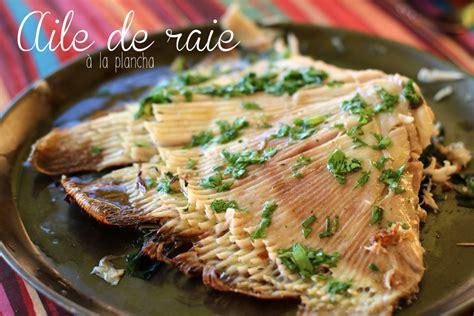 comment cuisiner l aile de raie aile de raie au citron 171 cookismo recettes saines