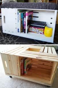 Diy storage ottoman storage ideas for small bedrooms jpg