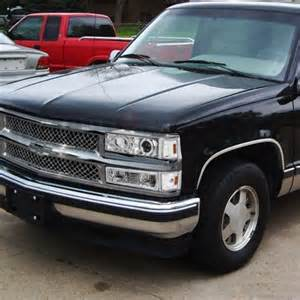 chevy silverado 1994 1998 chrome mesh grille and projector