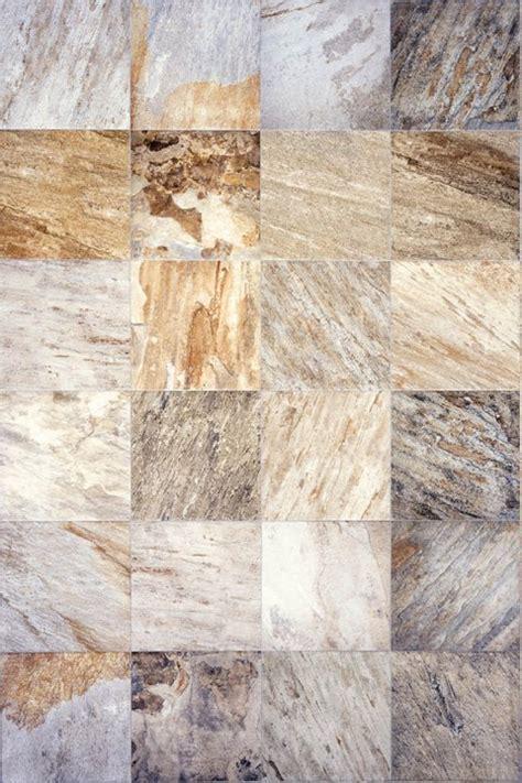 """Interceramic Slate Supremo Winter 16"""" x 16"""" Ceramic Tile"""