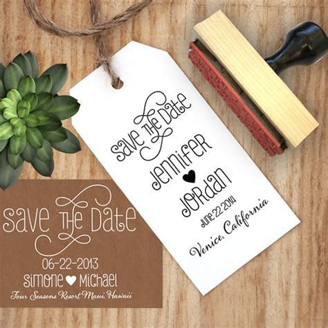 make your own edible save the date card by stomp stamps