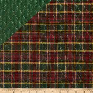blitz sided quilted plaid green discount
