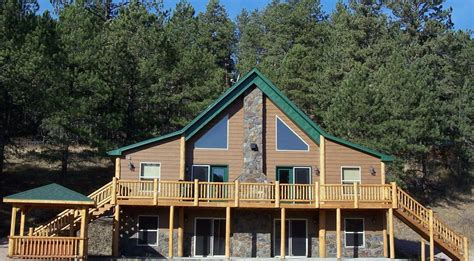 Cabins In South Dakota by Hill City Vacation Rental Vrbo 3525661ha 8 Br Black