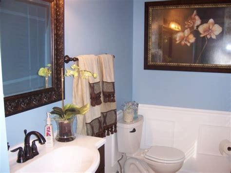Blue Brown And White Bathroom Ideas by 29 Best Images About Blue Brown Bathroom On