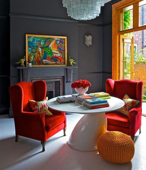17 best images about orange home decor and art on 17 best ideas about dark grey walls on pinterest