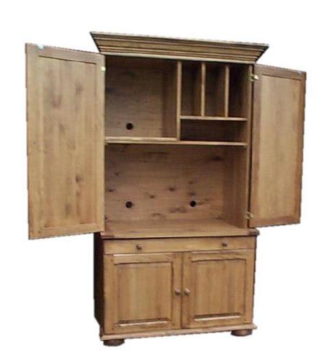 armoire informatique bois armoire ordinateur ouverte produit de bois fabriqu 233