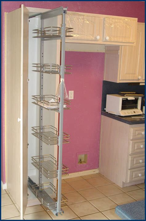 Refrigerated Pantry by Hanson House Kitchen Cabinets