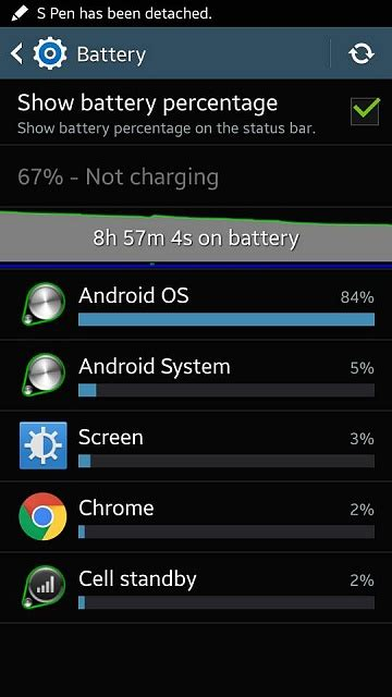 android os high battery usage android os battery usage insanity android forums at androidcentral