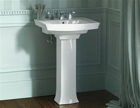 kohler archer pedestal sink pedestal sinks buying and installing a bathroom pedestal sink