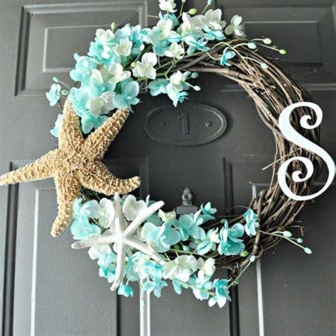 interestingly colorful summer door wreaths ideas