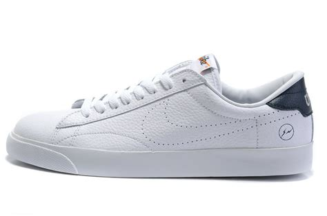 sale nike blazers shoes white leather sy54602