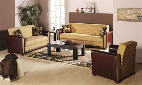 two tone living room contemporary two tone living room storage sleeper sofa