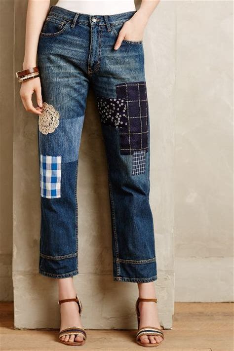 Patchwork Denim Trend - 21 ways to follow the patchwork trend pretty designs