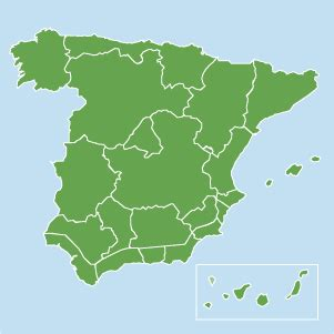 houses in spain map of property in spain