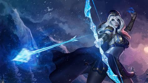 wallpaper ashe league  legends hd  creative