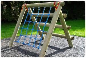 Backyard Climber Childrens Climbing Frame Playground Wooden