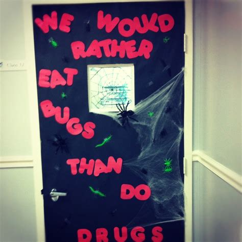halloween themes for red ribbon week 17 best images about door decorating on pinterest red