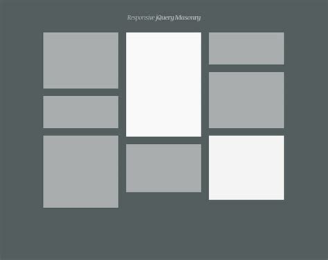 masonry layout without js css jquery masonry isotope and fluid images momentary
