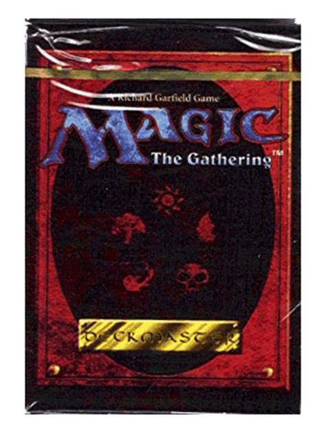 Magic The Gathering Black Starter Deck by Magic The Gathering 4th Edition Starter Deck