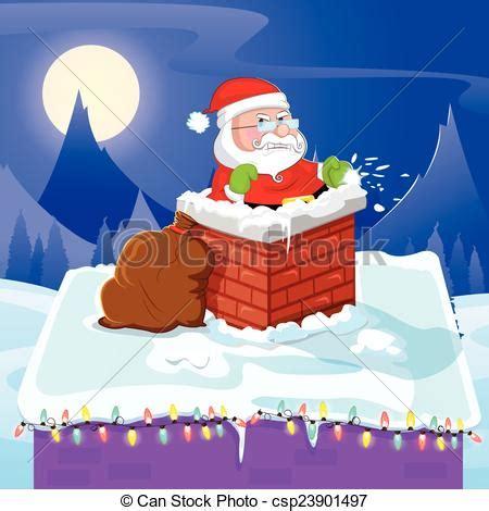 chimenea santa claus santa claus por entrar chimenea navidad chimenea
