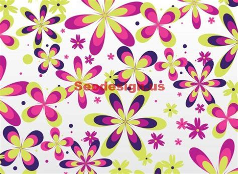 seamless pattern pixelmator seamless flowers vector background download