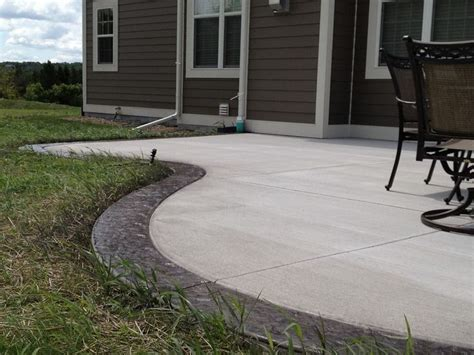 backyard concrete 25 best ideas about colored concrete patio on pinterest