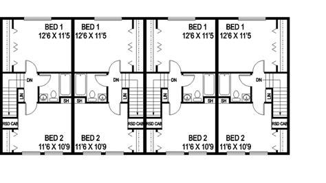 Daisy Fourplex Design Plan 085d 0867 House Plans And More | daisy fourplex design plan 085d 0867 house plans and more
