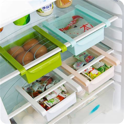 creative kitchen storage economic refrigerator storage box fresh spacer layer multi