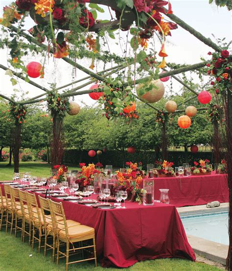 backyard fall wedding ideas fall outdoor wedding reception ideas