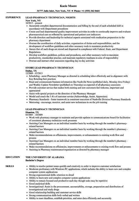 Lead Pharmacy Technician Sle Resume by Describe Current Resume Resume Real Estate No Experience Resume High School Graduate