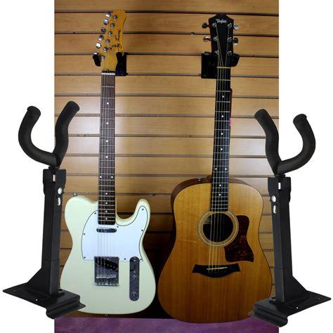 Guitar Wall Stand Hanger Us Seller 2 Qty Guitar Wall Mount Hanger Adjustable Hook