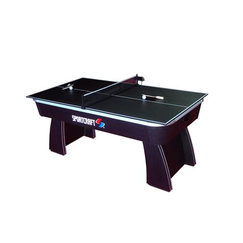 Air Hockey Table by Sportcraft 64672 6 Air Hockey Table With Table Tennis