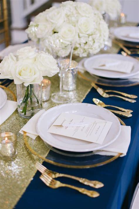 Blog   Style Options: Place Settings   Blue wedding