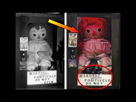 annabelle doll mysteries at the museum haunted annabelle एन ब ल doll real story in