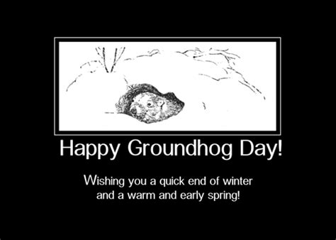 groundhog day for a black groundhog day black and white free groundhog day ecards