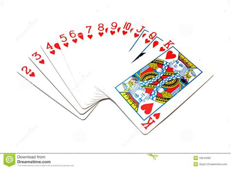 card pictures classic cards hearts royalty free stock photo