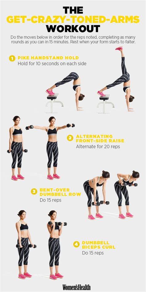 312 best images about arms workouts on