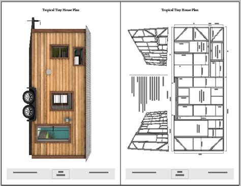 Tropical Tiny House Plans The Tiny Tack House Plans For Micro Homes