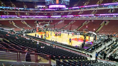 united center section 108 united center section 109 chicago bulls rateyourseats com