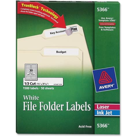 avery templates 5366 labels avery 5366 filing label 0 66 quot width x 3 43 quot 0 33 quot length