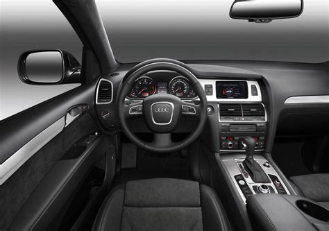 interior layout of audi q7 audi q7 2009 interior design interiorshot com