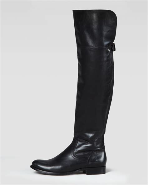 frye the knee boot in black lyst