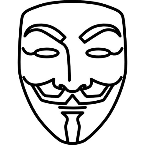 V For Vendetta Coloring Pages v for vendetta free cinema icons