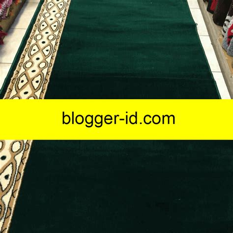 Karpet Polos Tebal jual karpet masjid tebal berkualitas polos bisa per meter