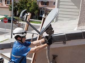 Find a local satellite dish installer signal connect